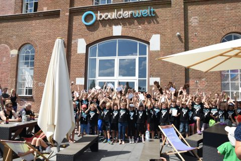 Boulderkids Cup 2017 in der Boulderwelt München West