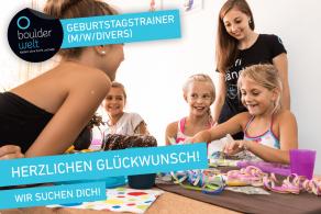 Stellenausschreibung - Jobs - Boulderwelt München West sucht Geburtstagstrainer