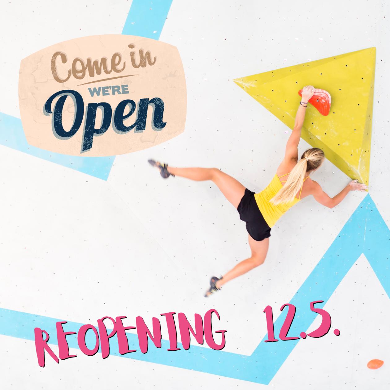 Reopening Boulderwelt München West 12.5.21 nach Lockdown