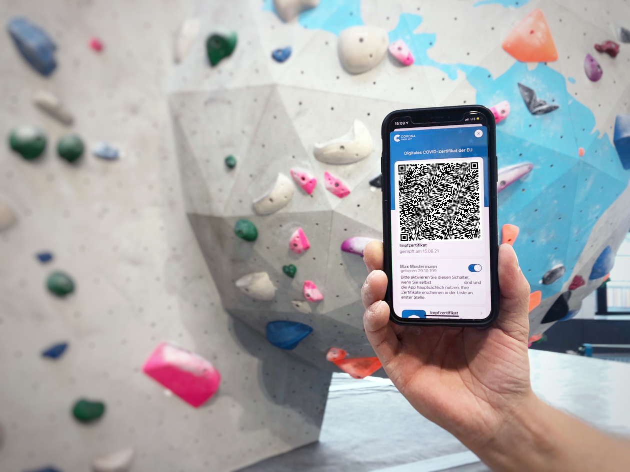 3G+-Nachweispflicht in der Boulderwelt München West ab 11.10.2021